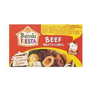 Barrio Fiesta Beef Broth Cubes 60g