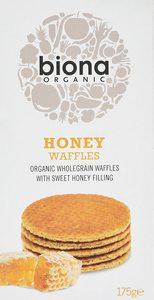 Biona Honey Waffles 175g