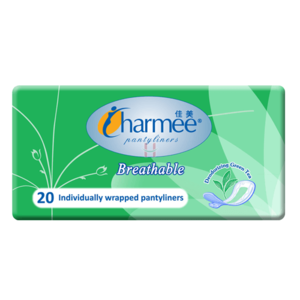 Charmee Breathable Green Tea Pads 20pcs