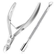 Cuticle Pusher & Cutter 1pc