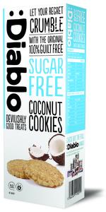 Diablo Coconut Cookies 150g