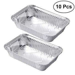 Foodpack Aluminium Container 10s