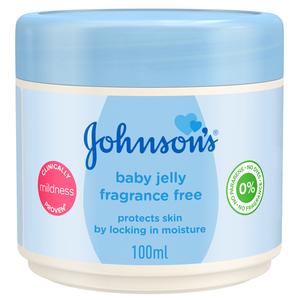 Johnson's Baby Jelly Fragrance Free 100ml