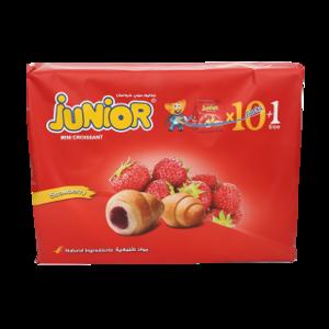 Junior Mini Croissant Strawberry 32g