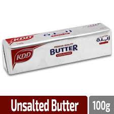 KDD Butter Unsalted 100g