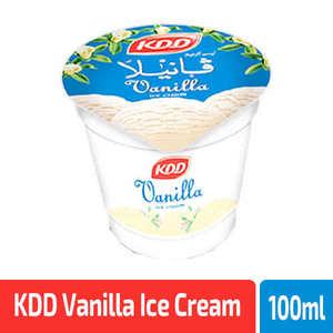 KDD Vanilla Ice Cream 100ml