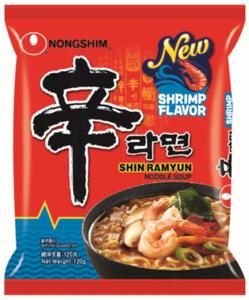 Nongshim Shin Ramyun Shrimp 120g