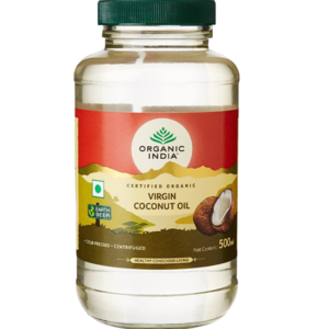 Organic India Coconut Oil 500ml