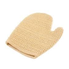 Ramie Sponge Gloves Adult 1pc