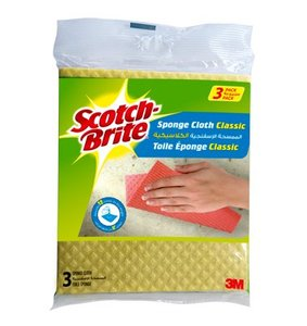 Scotch Brite Sponge Cloth Classic 4pc