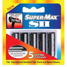 Super Max Sii Platinum 5 Cartridge 5s