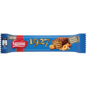 Nestle 1927 Wafer Covered In Milk Chocolate & Hazelnut Pieces 33 g