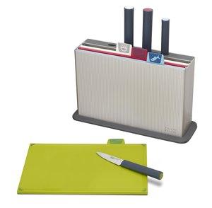 Joseph Joseph Index Chopping Board + Knives Regular 1pc