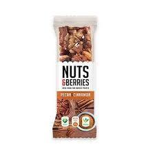 Nuts & Berries Pecan & Cinnamon Organic Fruit Bar 30g