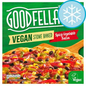 Goodfellas Stone baked Vegan Spicy Veg Salsa Pizza 375g