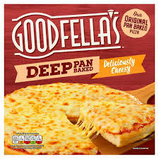 Goodfellas Deep Pan Baked Delicious Cheesy Pizza 421g