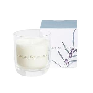 Neroli Lime & Basil Candle Blue 1pc