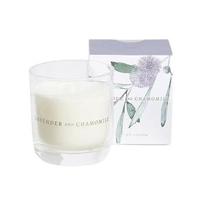 Lavender & Chamomile Candle Purple 1pc