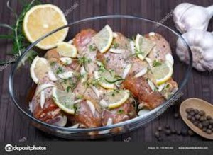 Fresh Chicken Legs Spicy Lime Marinated 500g