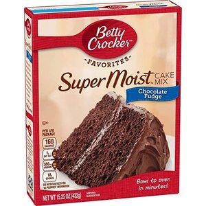 Betty Crocker Supermoist Chocolate Fudge Cake Mix 432g