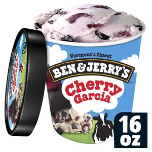Ben & Jerry Cherry Garcia Ice Cream 473ml