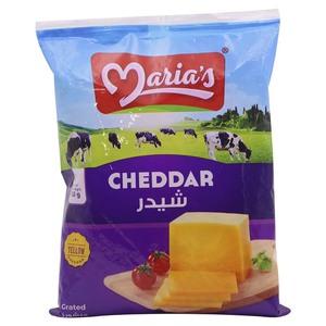 Maria's Shredded Coloured Cheddar Cheese 2x150g