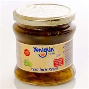 Yenigun Gold Series Green Fig Jam 450g