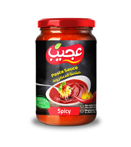 Ajeeb Pasta Sauce Spicy 2X360g
