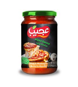 Ajeeb Pizza Sauce Olive&Mushroom 2X360g