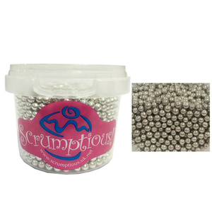 Scrumptious Sprinkles Silver Pearls 80g 1pc