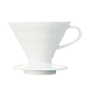 Hario Coffee Dripper 4 Cups White Ceramic 1pc