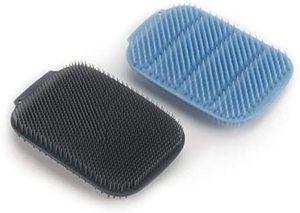 Joseph Joseph CleanTech Scrubber Blue Grey 2pcs