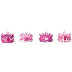 Wilton Princess Candles Packet 4pcs