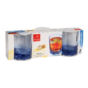 Bormioli Rocco Polo Marine Water Glass 25.3cl - 3pcs
