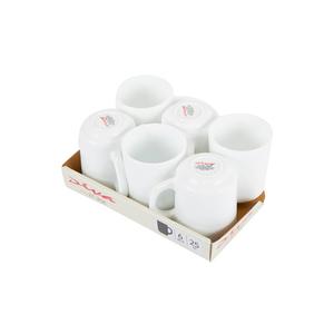 La Opala Plain White Coffe Mug 25cl