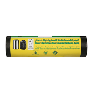 Sharjah Garbage Black Bag Rolls 10x105x125cm
