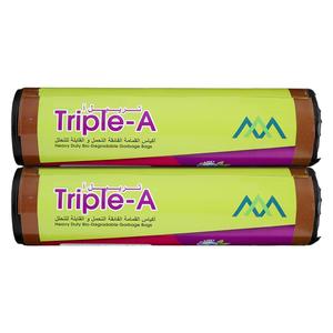 Triple A Garbage Bag Roll 110x130cm - 2pcs