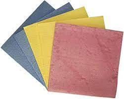 Multy Sponge Cloth Colored 3pc
