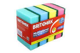 Britemax Multi Colour Gripp Sponge 5s