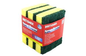 Britemax Multipurpose Sponge Glizing 4P 074 1pc