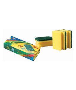 Mr.Plus (20-2298-14) Cleaning Sponge Scrubber 1pc