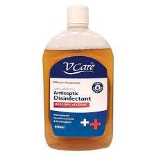 V Care Antiseptic Liquid 2x500ml