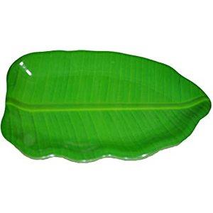 "Superware Tray  Banana Leaf 14"""