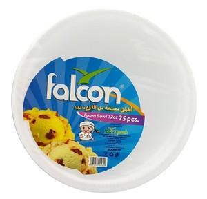 Falcon Falcon Foam Bowl 12oz - 25pcs