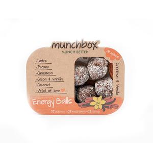 Munchbox Cinnamon & Vanilla Energy Balls 80g