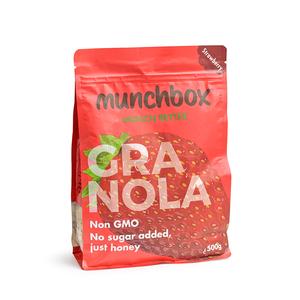 Munchbox Strawberry Granola 500g