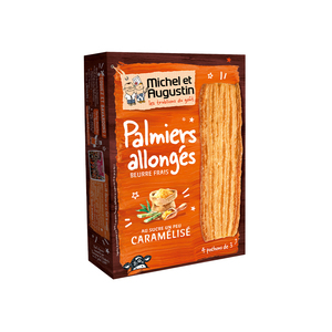 Michel et Augustin Puff Pastry Biscuit Caramelized Sugar 120g
