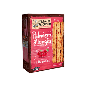 Michel et Augustin Puff Pastry Biscuit With Raspberry 120g