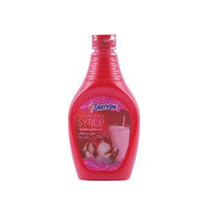 Sweet'N Low Sugar Free Strawberry Flavored Syrup 510g