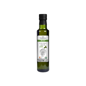 La Trajana Organic Extra Virgin Olive Oil Flavored With Basil 250ml
